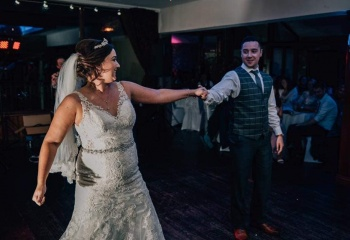 We are Loving these Beautiful Pictures captured from Laura & Jonny's First Dance. Thanks for sharing them with us. We are so glad you enjoyed your lessons & we would like to congratulate you both on becoming Mr & Mrs. Enjoy Married Life.
